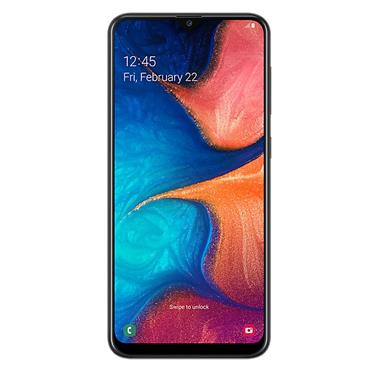 SAMSUNG GALAXY A20E SIM FREE MOBILE PHONE 32GB | SM-A202FZKDBTU