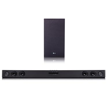 LG 300W RMS 2.1Ch Bluetooth Sound Bar with Wireless Subwoofer | SJ3