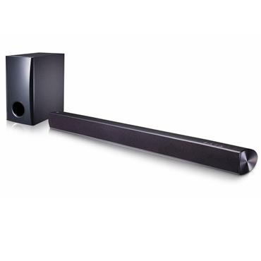 LG 100W 2.1Ch Soundbar with Wired Subwoofer Black | SH2