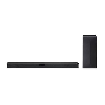 LG SN4 300W RMS 3Ch Bluetooth Sound Bar with Wireless Subwoofer | DGBRLLK
