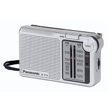 Panasonic FM / AM Pocket Radio - Silver | RF-P150DBA
