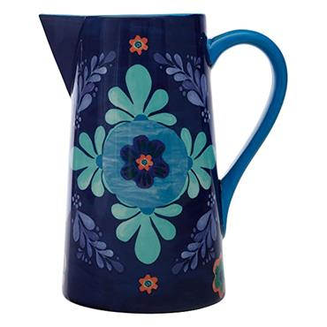 Maxwell & Williams Majolica 2.4 Litre Blue Pitcher | DR0270