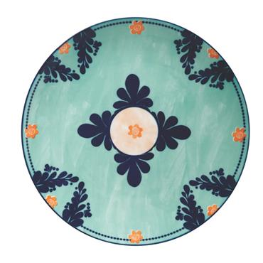 Maxwell & Williams Majolica 26.5cm Teal Dinner Plate | AW0414