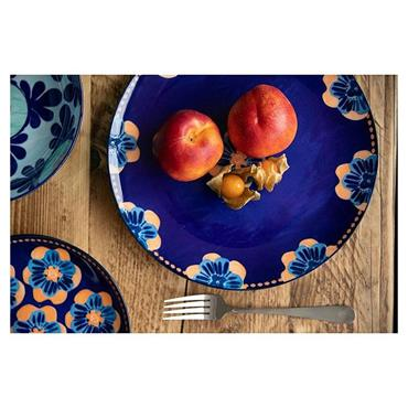 Maxwell & Williams Majolica 26.5cm Ink Blue Dinner Plate | AW0415