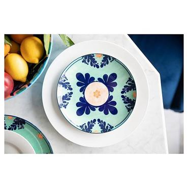 Maxwell & Williams Majolica 20cm Teal Side Plate | AW0418