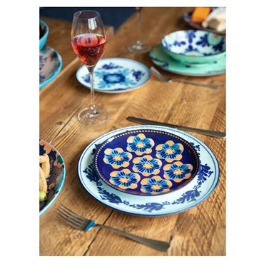Maxwell & Williams Majolica 20cm Ink Blue Side Plate | AW0419