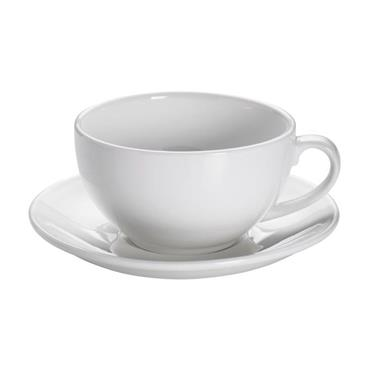 Maxwell & Williams White Basics 300ml Cappuccino Cup And Saucer   MWAA2744