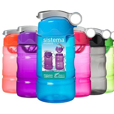 Sistema Hydrate Sports Fusion Bottle 560ml - Assorted Colours | 530