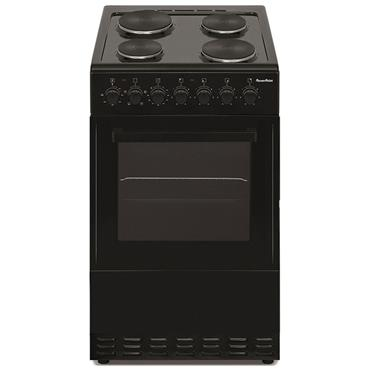 Powerpoint 60cm Solid Plate Cooker - Black | P06ES1BL