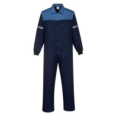 Portwest Overalls Farmers Boilersuit - Navy