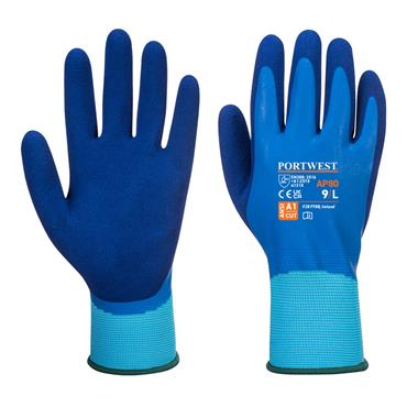 Portwest AP80 Liquid Protection Gloves - Blue