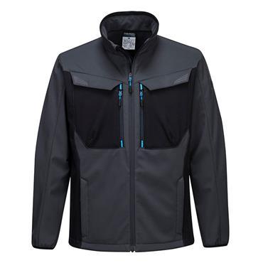 Portwest Wx3 Softshell Jacket - Metal Grey
