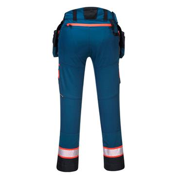 Portwest DX4 Detachable Holster Pocket Work Trouser - Metro Blue