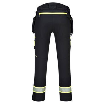 Portwest DX4 Detachable Holster Pocket Work Trouser - Black