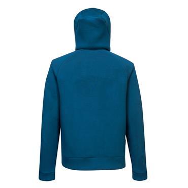 Portwest Dx4 Zipped Hoodie - Metro Blue