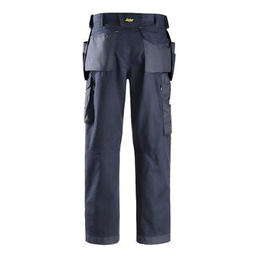 Snickers 3214 Holster Pocket Work Trousers Navy