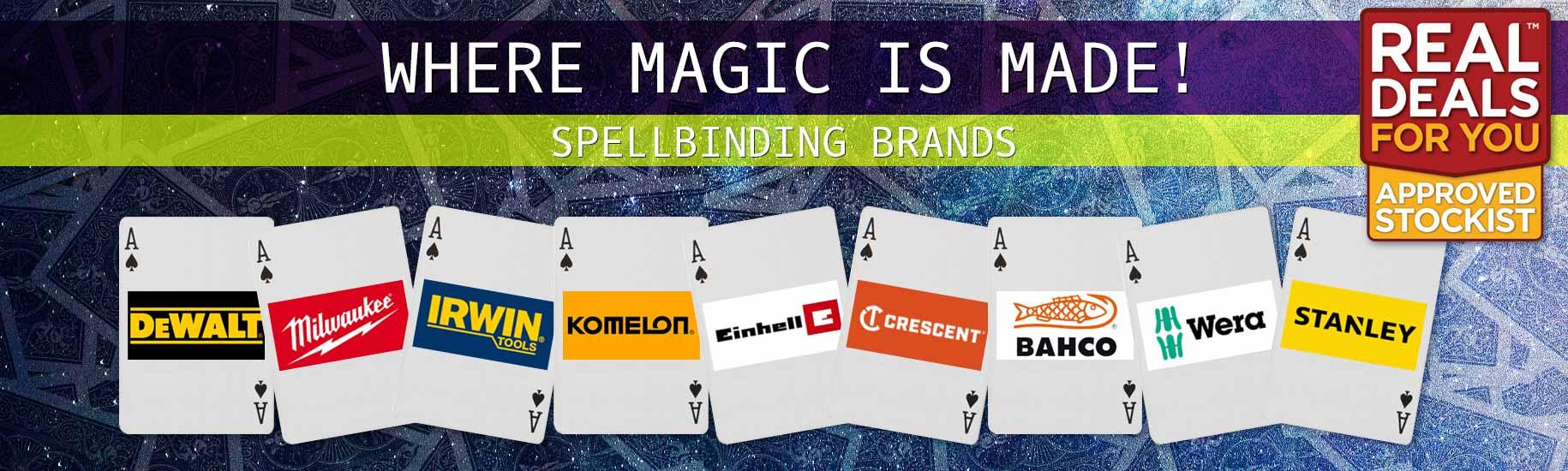 Real Deals - Spellbinding Brands - Shop Now