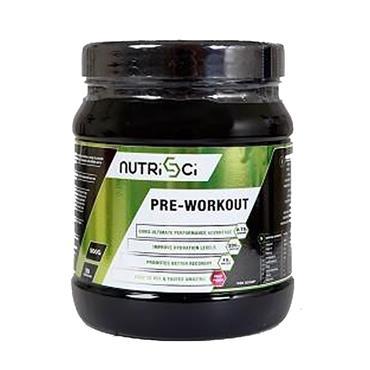 NutriSci Pre-Workout Fruit Punch