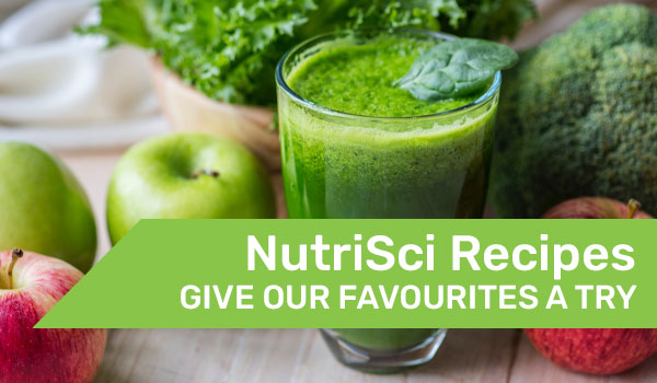 NutriSci recipes try some of our favourites