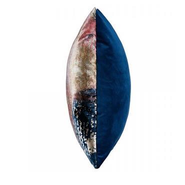 NISHA 43X43CM BLUE / PINK