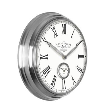 19'' Greenwich Timekeeper Wall Clock Royal Island
