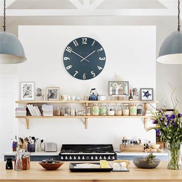 20'' Mulberry Wall Clock Midnight Blue