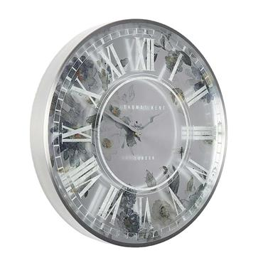 21'' Eden Wall Clock Pewter