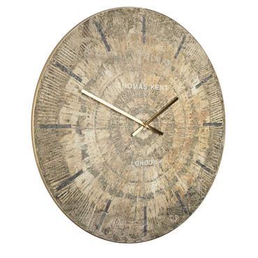 36'' Starburst Grand Clock Gold