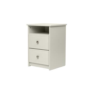 Carroll Grey 2 Drawer 1 Shelf Locker