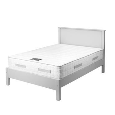 Carroll White 4' Bed Frame