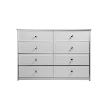 Carroll White Wide Chest