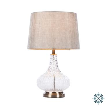 LANA BULB TABLE LAMP CHARCOAL 63CM