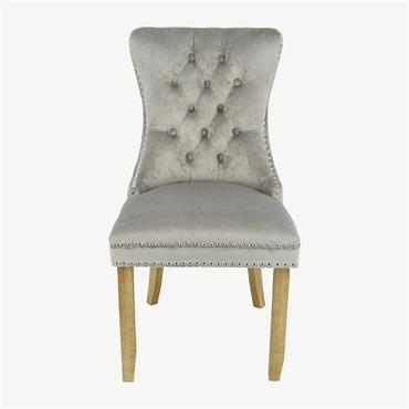 Casey Chair Brushed Leg - Mink