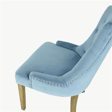 Siri Chair Light Blue