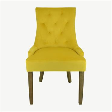 Siri Chair Yellow