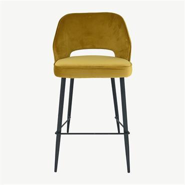 Sienna Barstool Yellow