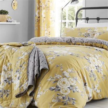 Canterbury Ochre Bedspread 220x230
