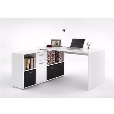 Loft White Corner Desk