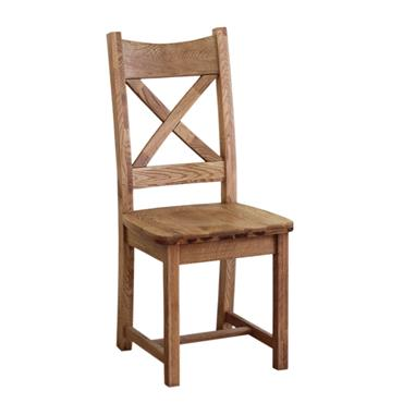 Erne Timber Seat Dining Chair