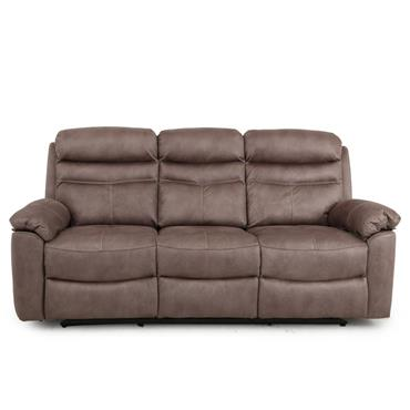 Tobago   Sand 3 Seater Recliner