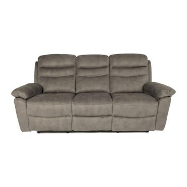 Tobago  Silver 3 Seater Recliner