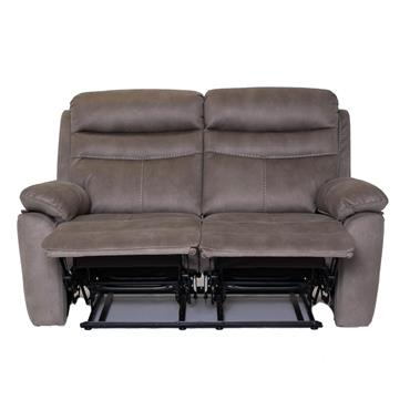 Tobago  Silver 2 Seater Recliner