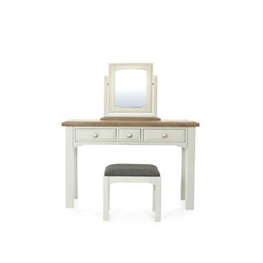 Bridge Dressing Table, Mirror & Stool