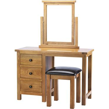 Clare Dressing Table Stool & Mirror