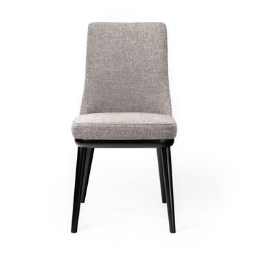 Preston Dark Grey Fabric Chair