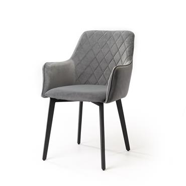 Cobalt Dining Chair Grey