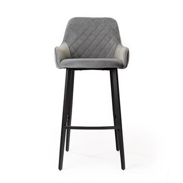 Cobalt Bar Stool Grey