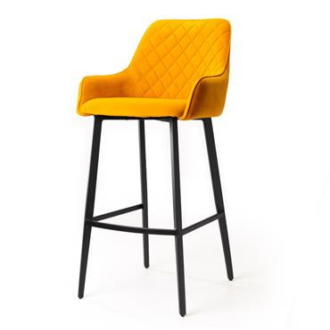 Cobalt Bar Stool Yellow