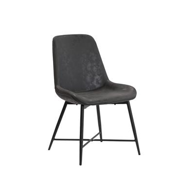 Ruby Dining Chair Grey