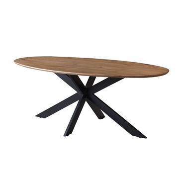 Ruby 2.0m Oval Table